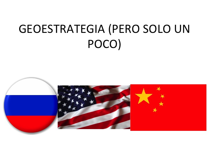 conferencia geoestrategia